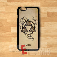 Legend of Zelda Triforce Lightning -stl for iPhone 6S case, iPhone 5s case, iPhone 6 case, iPhone 4S, Samsung S6 Edge