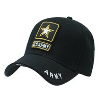 Delux Military Law Enforcement Cap Hat- US Army Star