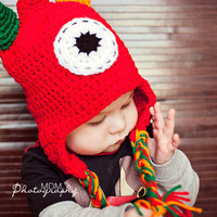 monster crochet hat for baby boy to teen by stitchesbystephann