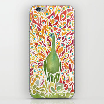 Grove Peacock iPhone & iPod Skin by Rosie Brown