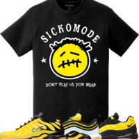 Nike Air Max Frequency Pack Bumble Bee Sneaker Tees - SICKO MODE