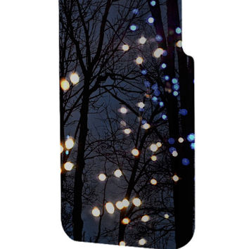 Best 3D Full Wrap Phone Case - Hard (PC) Cover with Winter Lights Design
