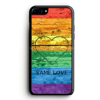 Lgbt Same Love Rainbow Flag iPhone 7 Plus Case | aneend