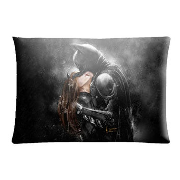 "Batman kissing catwoman Pillow Case cover 30"" X 20"""