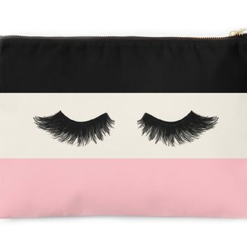 Lush Lashes - Travel Makeup Pouch