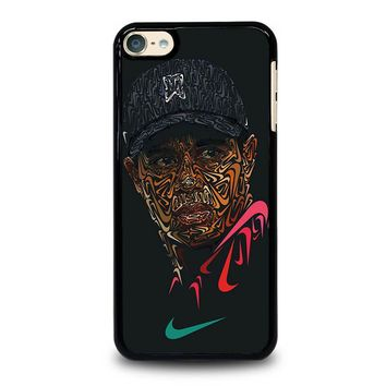 TIGER WOODS NIKE PORTRAIT iPod Touch 4 5 6 Case Cover