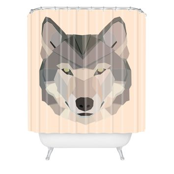 Gabi Waya Equa Rose Shower Curtain