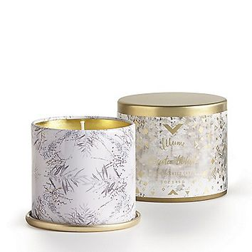 Illume™ 3 oz demi tin soy candle in winter white | maurices