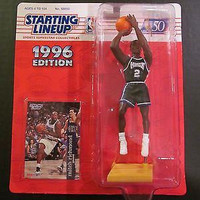 Mitch Richmond Sacremento Kings NBA 1996 Starting Lineup Action Figure NIB Kenner new in package