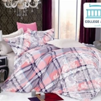 Chalet Stitch Twin XL Comforter Set - College Ave Designer Series Products For College Students Great Dorm Room Bedding