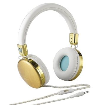 Cinderella Fashion iHome Over-ear Headphones with Adjustable Headband, Padded Ear Cushions and Built-in Mic | Overstock.com Shopping - The Best Deals on Over-the-Ear Headphones