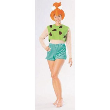 Women's Costume: Pebbles Flintstones | Large
