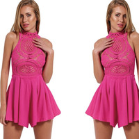 Chasity Pink Playsuit
