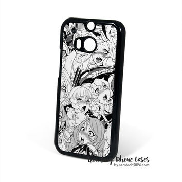 Ahegao Pervert Manga  HTC One M8 Case Cover for M9 M8 One X Case