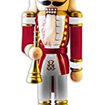 NCAA University of Nebraska Christmas Nutcracker Ornament, Multicolor, One Size