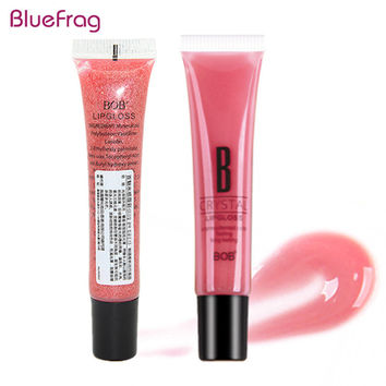 BLUEFRAG 8 Colors Glitter Moist Lip Gloss Diamond Sand Gold Liquid Lipsticks Makeup Batom Long Lasting Waterproof Lipgloss Bob