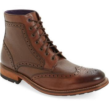 Ted Baker London 'Sealls 3' Wingtip Boot (Men) | Nordstrom