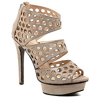 Pelle Moda Mahal Dress Sandals - Dark Taupe