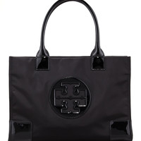 Mini Ella Tote Bag, Black - Tory Burch