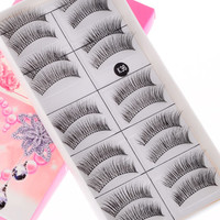 ROMWE | Handmade Natural Soft False Eyelashes (10 Pairs), The Latest Street Fashion