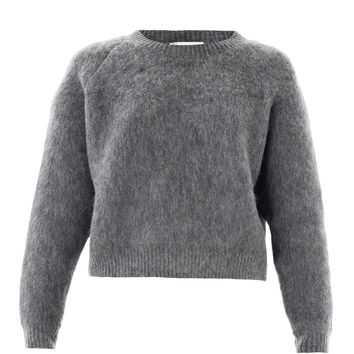 Textured wool-mohair sweater | Stella McCartney | MATCHESFASHI...
