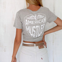 Buy American Hustler Top Online by SABO SKIRT