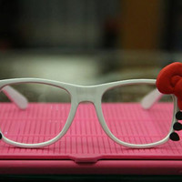 Hello Kitty Red Bow Sunglasses