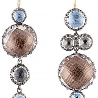Larkspur & Hawk - Sadie Mis-Matched Bubble Earrings | Kirna Zabête