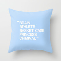 The Breakfast Club Throw Pillow by hopealittle