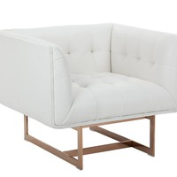 CYRILLE ARMCHAIR WHITE