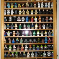 Lego Minifigures / Star War / Disney Figures Display Case Wall Curio Cabinet, HW11-OA