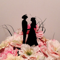 Traditional Firefighter holding hands Cake Topper