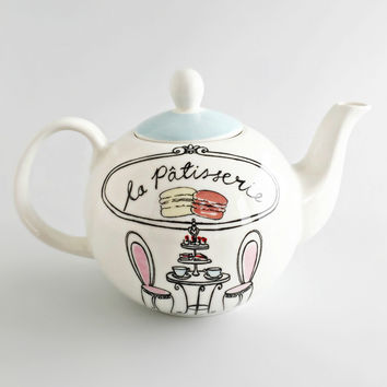 Paris Patisserie Tea Pot