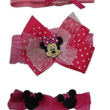 Disney Minnie Mouse Hair Set - Infant [5012]