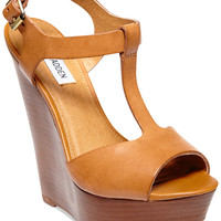 Steve Madden Women's Bittles Platform Wedge Sandals