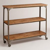 Aiden 3-Shelf Console - World Market