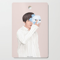 BTS Taehyung | Singularity Cutting Board by marylobs