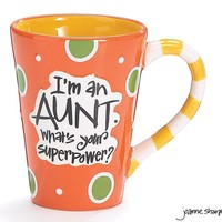 What's your Super Power? I'm an Aunt Mug with Gift Box