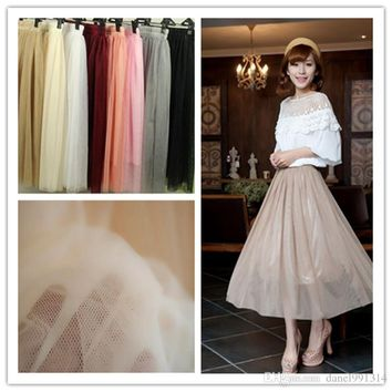 Real Picture summer skirt White Tulle Tutu Skirts For Adults Custom Made A-Line Cheap Party Prom Dresses Women Clothing Tulle Sk
