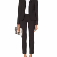 Black Collection Two Button Jacket & Drew Ankle Pants | Womens' Suits | THE LIMITED