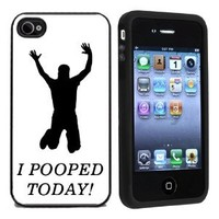 I Pooped Today Case / Cover For Apple iPhone 4 or 4s by Atomic Market