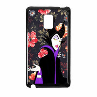 Malficient Disney Floral Vintage Samsung Galaxy Note Edge Case