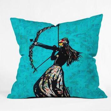 The Archer Throw pillow