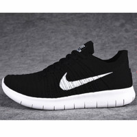 NIKE Women Men Running knit Sport Casual Shoes Sneakers Black