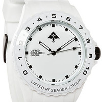 The Latitude Watch in White
