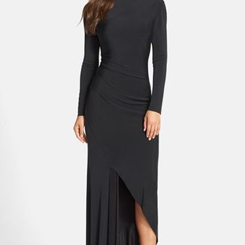 Women's Needle & Thread Long Sleeve Jersey Gown