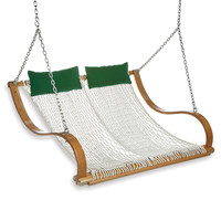 Double Rope Swing Hammock with Pillows from Pawley Island