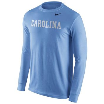 Nike North Carolina Tar Heels Wordmark Tee