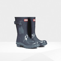Hunter UK | Women's Original Short Gloss Wellington Boots | Official Site