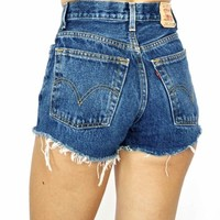 Dark Sweet & Simple Vintage Levis High Waist Shorts